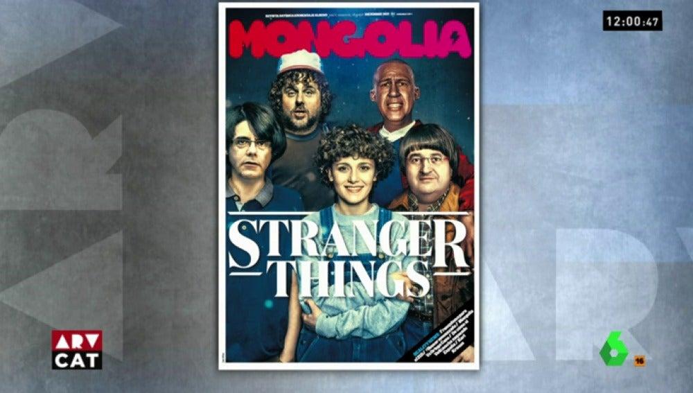 La nueva portada de la revista Mongolia