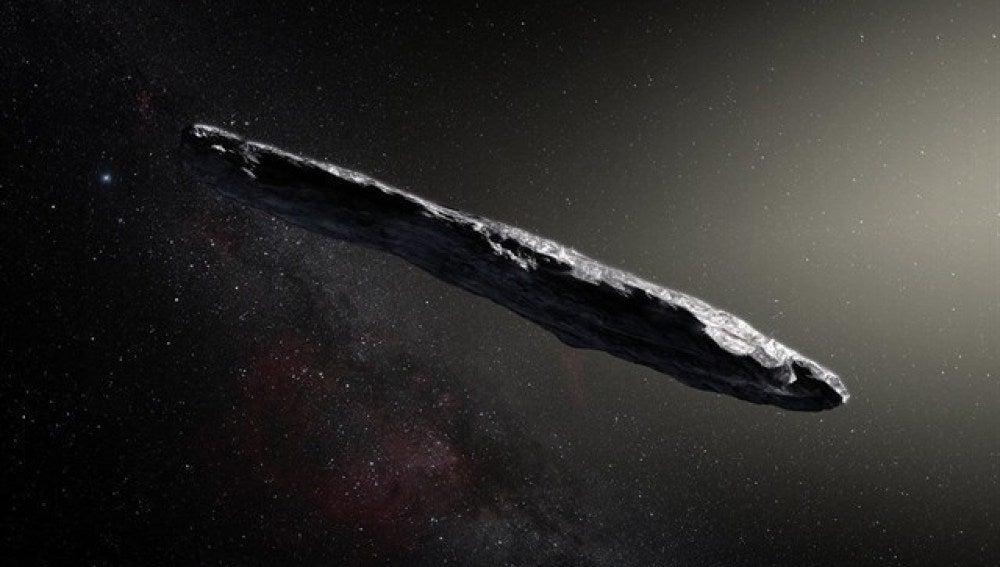 Oumuamua, primer asteroide interestelar