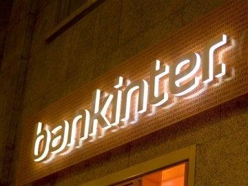 Imagen de un cartel de la entidad Bankinter
