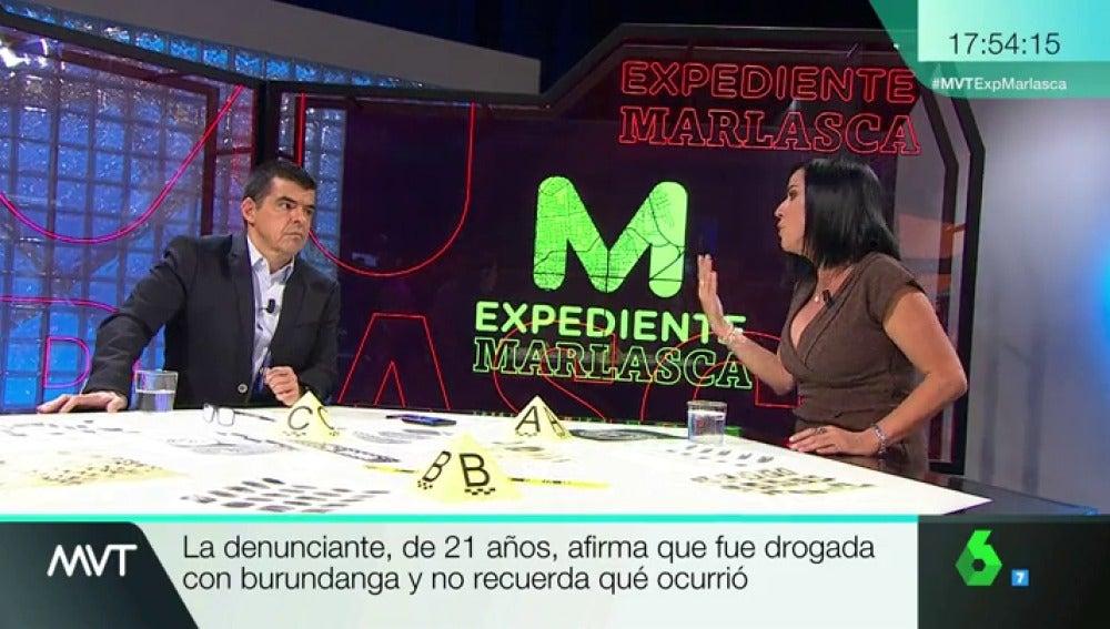 Manu Marlasca y Beatriz de Vicente