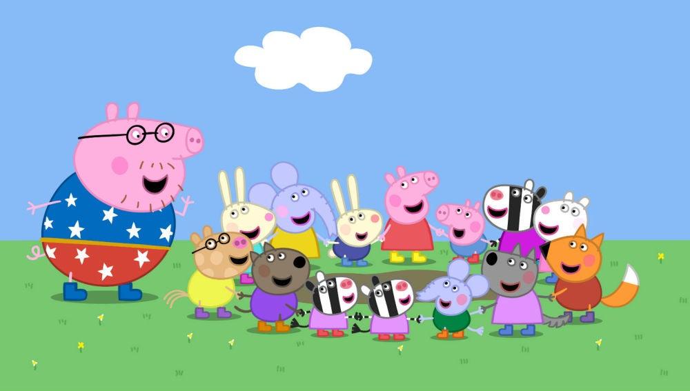 Un estudio afirma que Peppa Pig hace un mal uso del medico de cabecera