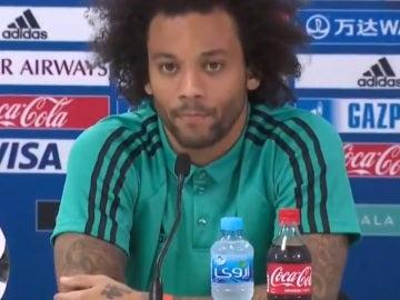 Marcelo, en rueda de prensa
