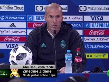 """Zidane, sobre el VAR: """"Es positivo, pero quizá alguna cosa no me gusta en los detalles"""""""