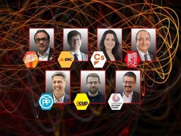 Candidatos de '17D. El Debat'