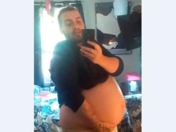 Kace Sullivan durante su embarazo