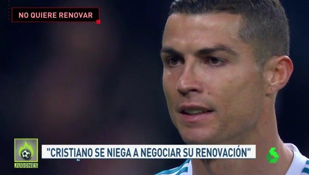 Cristiano se niega a negociar su renovación molesto por los guiños de Florentino a Neymar