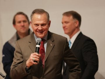 El ultraconservador republicano Roy Moore
