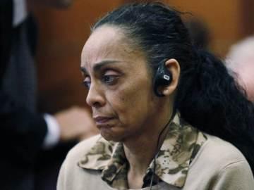 Ana María Cardona siendo juzgada