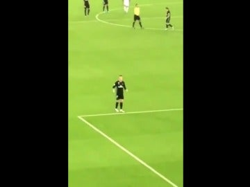 Cristiano Ronaldo, ante el Al Jazira