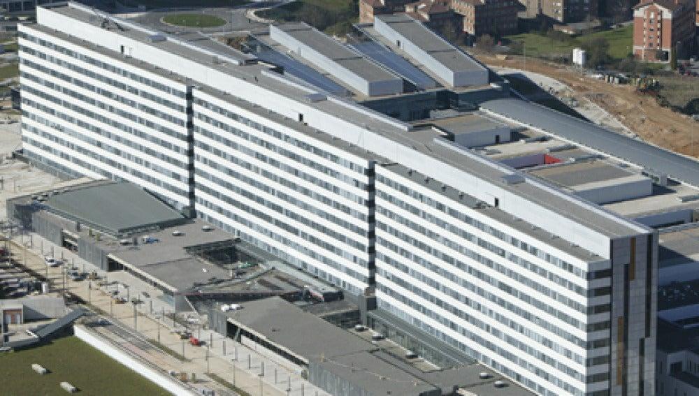 Vista aérea del Hospital Universitario de Oviedo