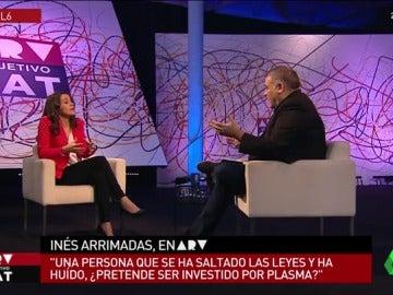 """Inés Arrimadas: """"Jamás negare a los dos millones de independentistas pero se ha negado la catalanidad de nuestros votantes"""""""