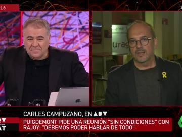 El portavoz del PDeCAT en el Congreso, Carles Campuzano, en ARV