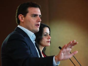 Albert Rivera e Inés Arrimadas