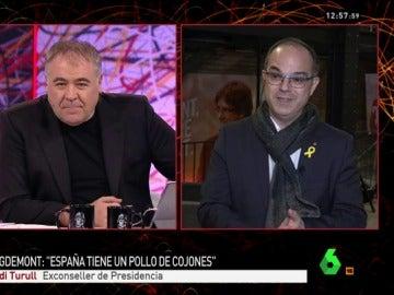 Jordi Turull, exconseller de Presidencia