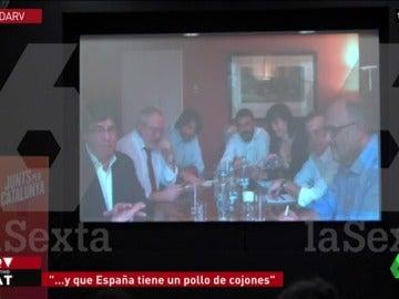 Puigdemont se reúne con sus compañeros de partido