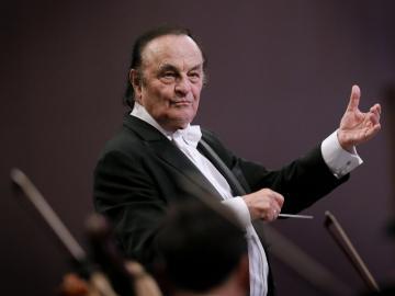 El director suizo Charles Dutoit
