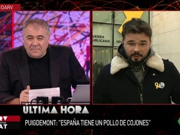 Gabriel Rufián en ARV