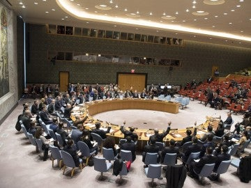 Pleno del Consejo de Seguridad durante una votación sobre la propuesta de Estados Unidos para endurecer las sanciones contra Corea del Norte