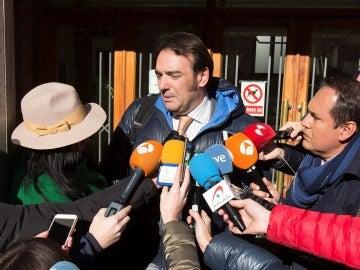 El abogado de la joven supuestamente agredida sexualmente por tres jugadores de la Arandina C.F., Fernando García Puertas