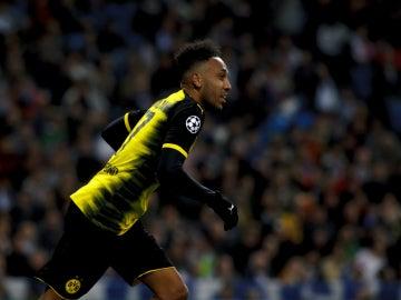 Aubameyang, con el Borussia Dortmund
