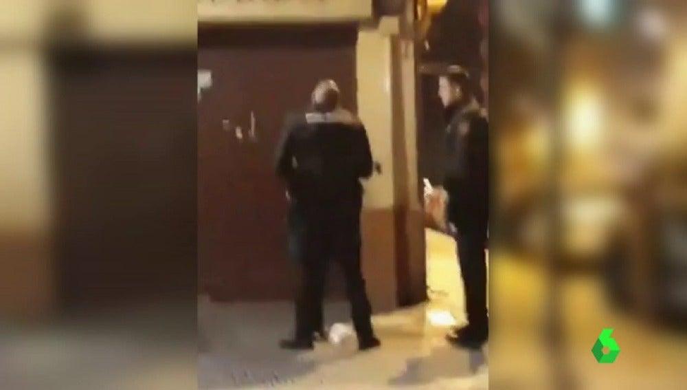 La Policía investiga la agresión de un agente a una mujer en Valencia