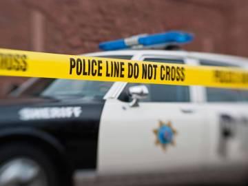 Imagen de un coche de la policía en EEUU