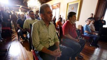 El opositor venezolano Alfredo Ramos, entre otros