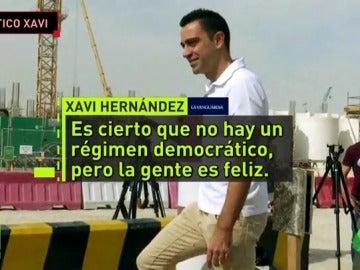 """Xavi Hernández: """"En Qatar no hay un régimen democrático, pero la gente es feliz"""""""