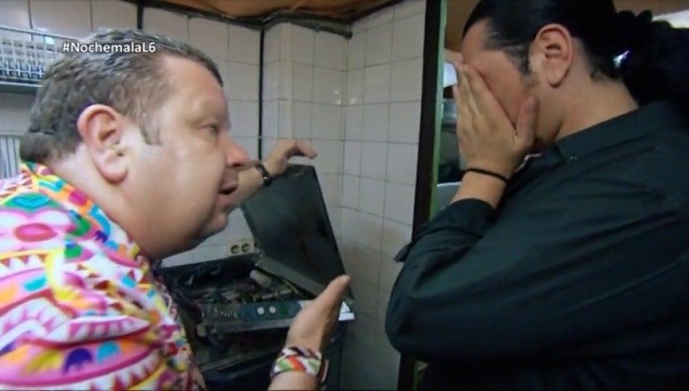 ¿Qué pensó Alberto Chicote al encontrarse un ratón en el lavavajillas de 'El último Ágave'? El chef se confiesa en 'Nochemala en la cocina'