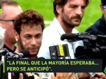 """Neymar: """"El PSG-Real Madrid es la final que la mayoría esperaba"""""""