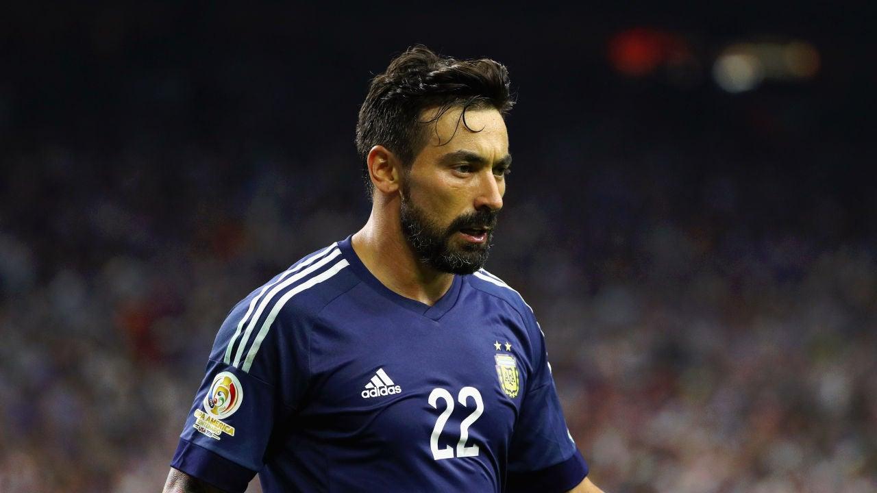 Lavezzi con la selección argentina