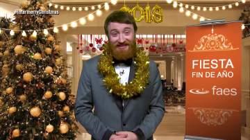 Manuel Burque, en El InterMerry Christmas