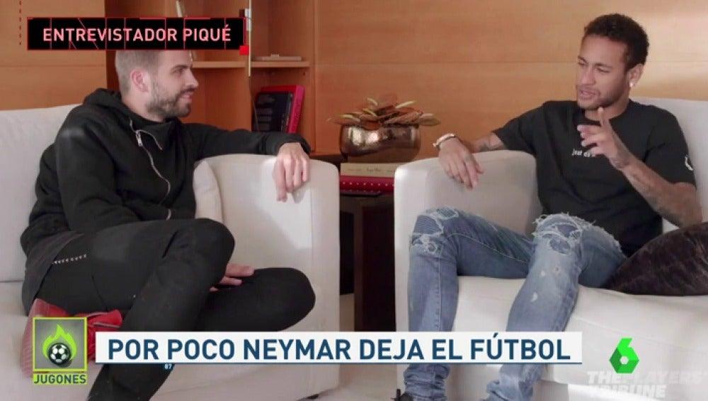 """La entrevista de Piqué a Neymar: """"¿Firmas una final España-Brasil, 'hat trick' tuyo y ganamos el Mundial en los penaltis?"""""""