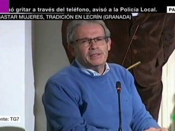 El alcalde de Lecrín, municipio de Granada