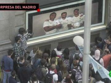 Los jugadores del Madrid sorprenden