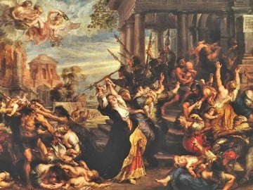 Representación de la matanza de los Santos Inocentes