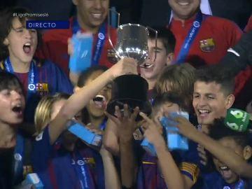 El Barcelona, campeón de LaLiga Promises en Arona