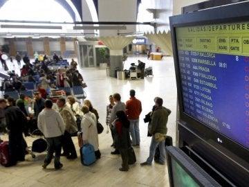Foto de archivo del aeropuerto de Sevilla