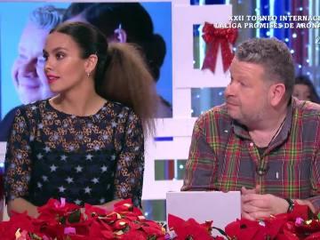 Cristina Pedroche y Alberto Chicote hablan de las Campanadas en Zapeando