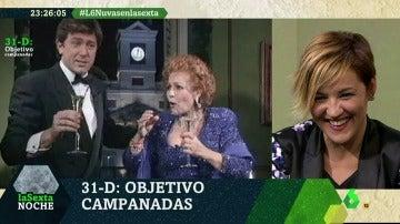 laSexta Noche alerta a Iñaki López y cristina Pardo de todos los 'peligros' que corren dando las Campanadas 2017