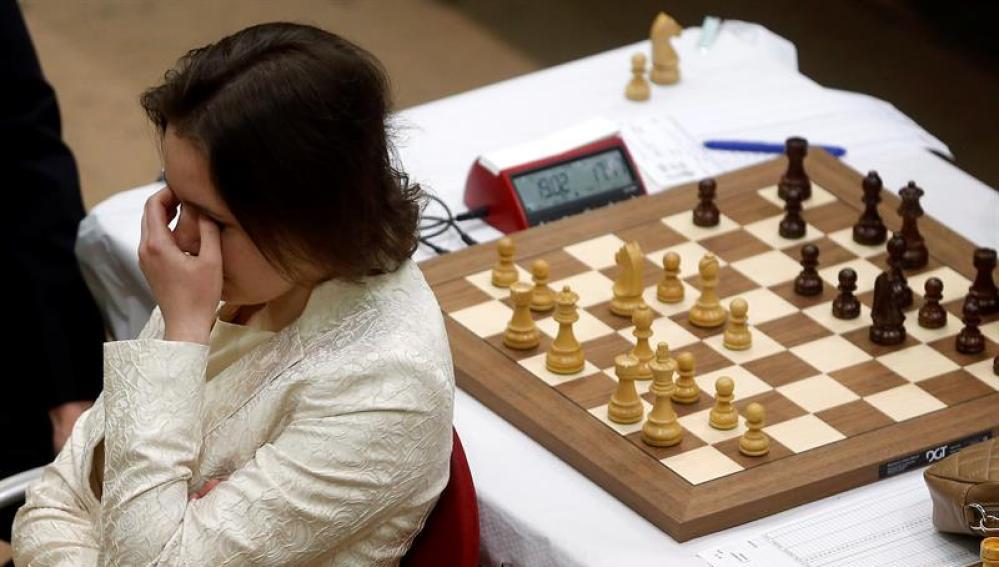La campeona mundial de ajedrez, Mariya Muzychuk