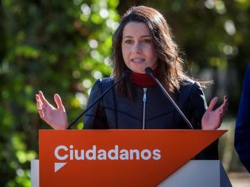 La líder de Ciudadanos (Cs) en Cataluña, Inés Arrimadas