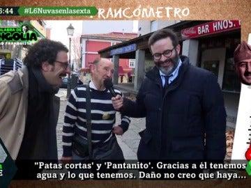 """La 'Revista Mongolia' activa el 'francómetro' en el pueblo de El Pardo para saber qué piensan de Franco: """"Nos acordamos mucho de él, era muy bueno"""""""