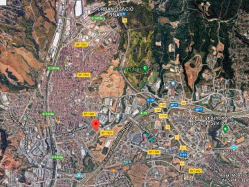 Ubicación de Torrent dels Alous, Barcelona