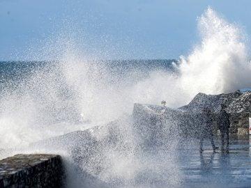 Sucesivos frentes atlánticos marcarán los primeros días de 2018
