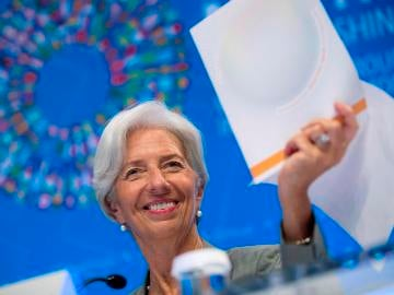 Christine Lagarde, directora el FMI