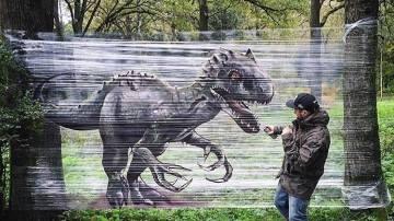 Una de las obras de Evgeny Ches