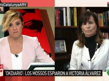 La expareja de Jordi Pujol Ferrusola, Victoria Álvarez