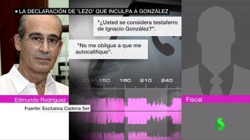 La declaración de Edmundo Rodríguez