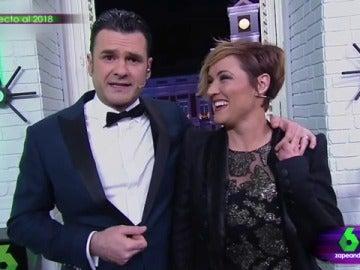 Iñaki López y Cristina Pardo